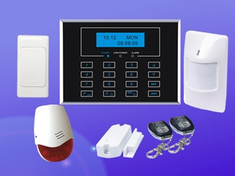 GSM Security System Wireless Burglar Alarm System